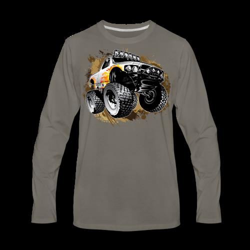 Monster Mudding Truck - Men's Premium Long Sleeve T-Shirt