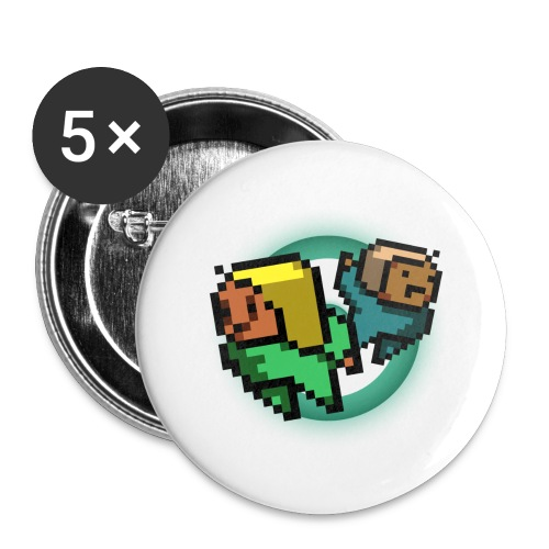 Gal Shirt - Buttons small 1'' (5-pack)
