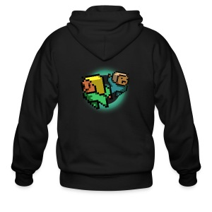 Guy Shirt - Men's Zip Hoodie