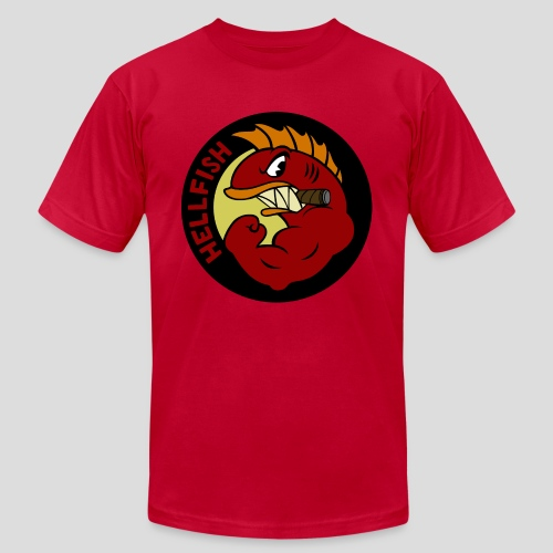 The Simpsons: Flying Hellfish 2 - Men's Fine Jersey T-Shirt