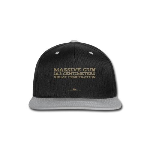 Massive Gun - Snap-back Baseball Cap