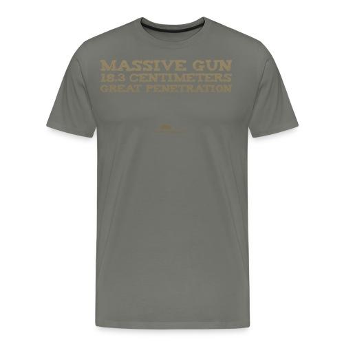 Massive Gun - Men's Premium T-Shirt
