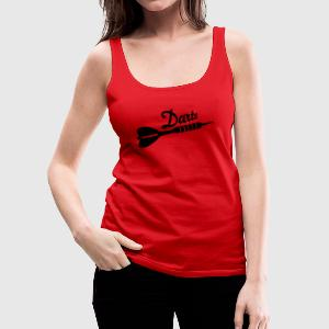 Darts Women's T-Shirts - Women's Premium Tank Top
