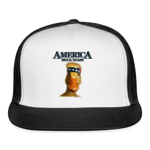 America, Duck Yeah! Mug - Trucker Cap