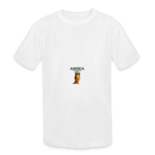 America, Duck Yeah! Mug - Kids' Moisture Wicking Performance T-Shirt