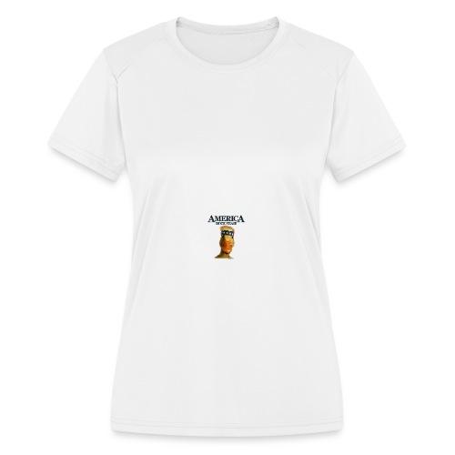 America, Duck Yeah! Mug - Women's Moisture Wicking Performance T-Shirt