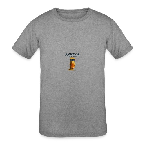 America, Duck Yeah! Mug - Kids' Tri-Blend T-Shirt
