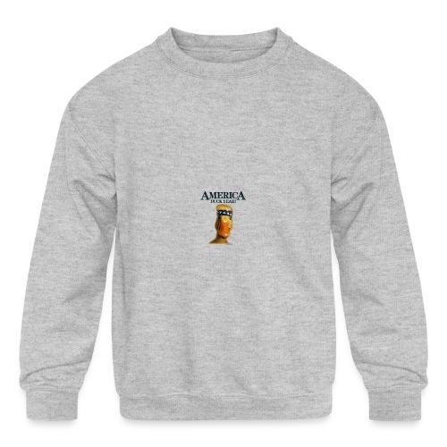 America, Duck Yeah! Mug - Kids' Crewneck Sweatshirt