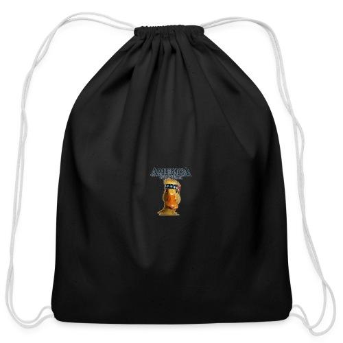 America, Duck Yeah! Mug - Cotton Drawstring Bag