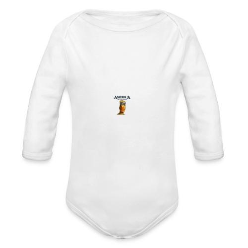 America, Duck Yeah! Mug - Organic Long Sleeve Baby Bodysuit