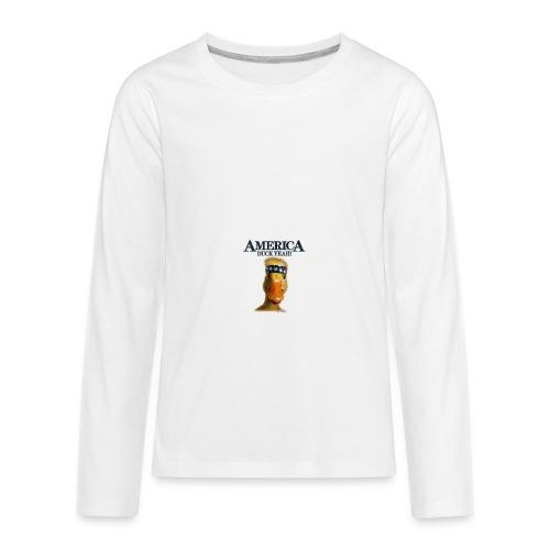 America, Duck Yeah! Mug - Kids' Premium Long Sleeve T-Shirt