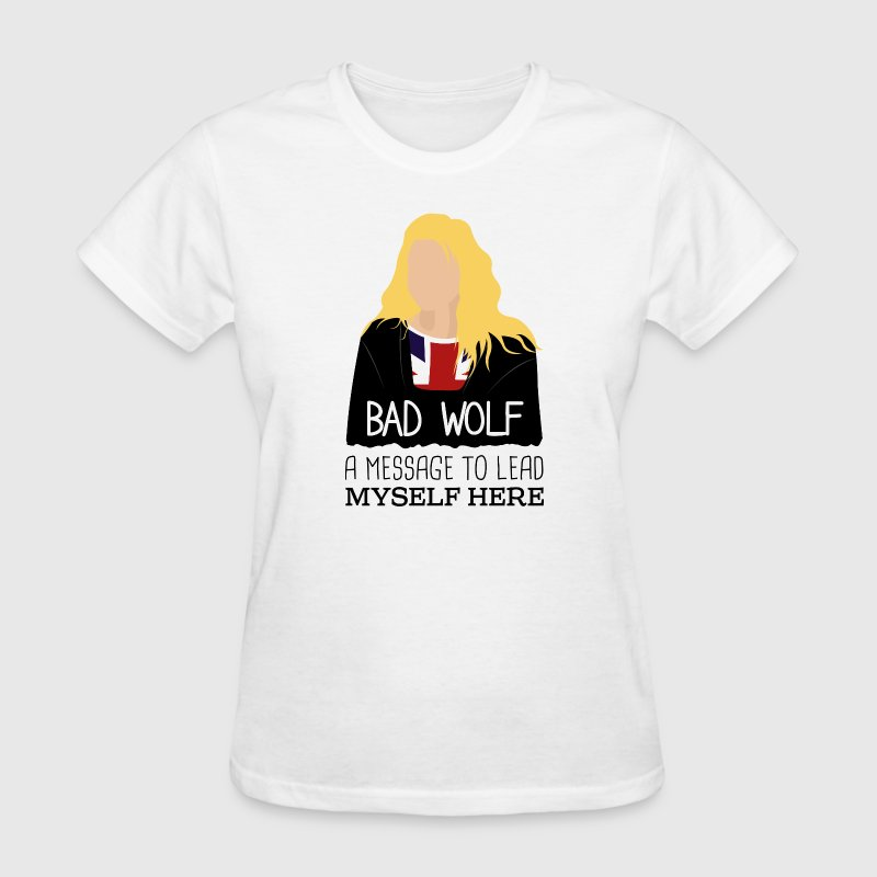 Rose Tyler Bad Wolf - Doctor Who - Women's T-Shirt