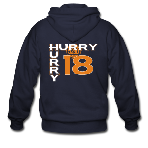 HURRY HURRY 18 - Mens - Men's Zip Hoodie