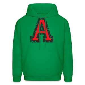 Letter A T-Shirt (Men) Black/Red - Men's Hoodie