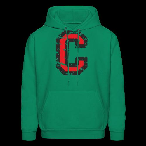 Letter C T-Shirt (Men) Black/Red - Men's Hoodie