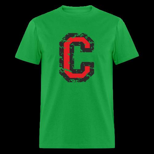 Letter C T-Shirt (Men) Black/Red - Men's T-Shirt