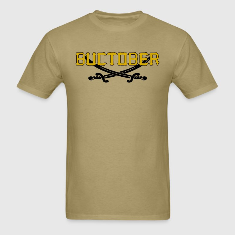 Buctober Pirates Shirt Playoffs Pittsburgh - Men's T-Shirt
