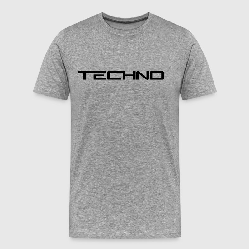 Techno Logo T-Shirts - Men's Premium T-Shirt