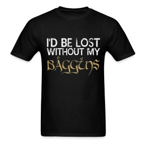 Lost Without My Baggins - Men's T-Shirt