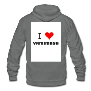 Yamimash - Unisex Fleece Zip Hoodie by American Apparel