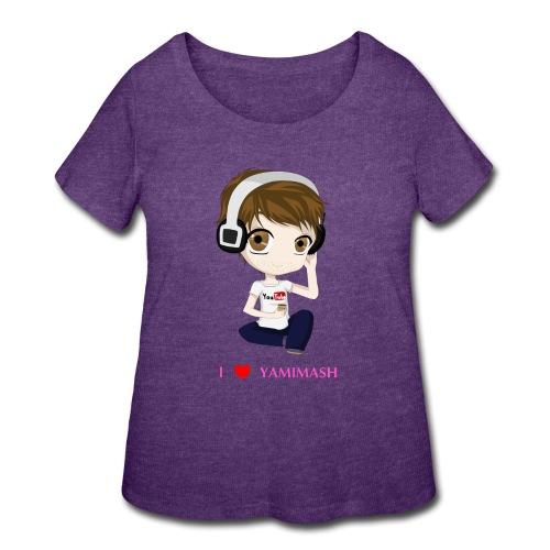 Yamimash - Women's Curvy T-Shirt