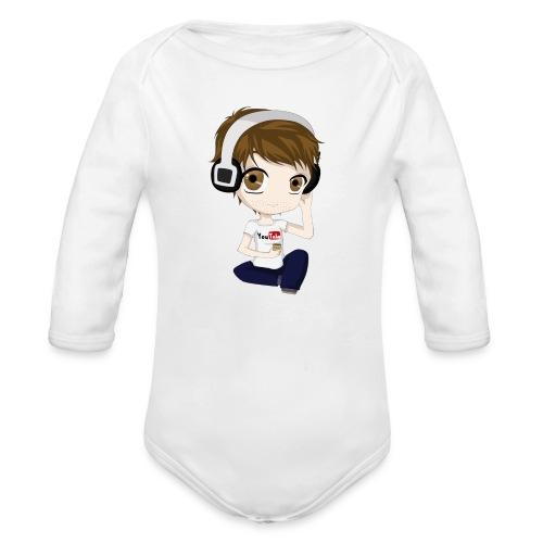 Yamimash - Organic Long Sleeve Baby Bodysuit
