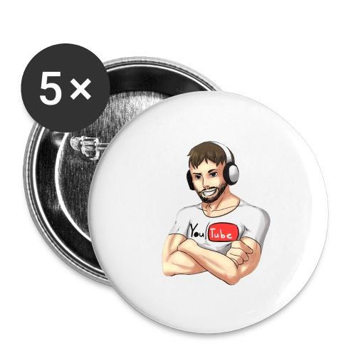 Yamimash - Buttons large 2.2'' (5-pack)
