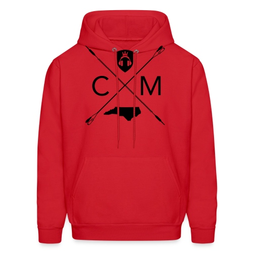 Home Grown AV cranberry - Men's Hoodie