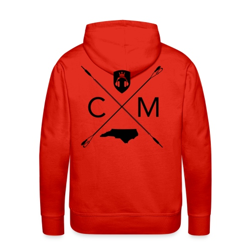 Home Grown AV cranberry - Men's Premium Hoodie