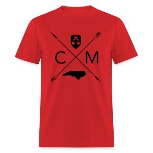 Home Grown AV cranberry - Men's T-Shirt