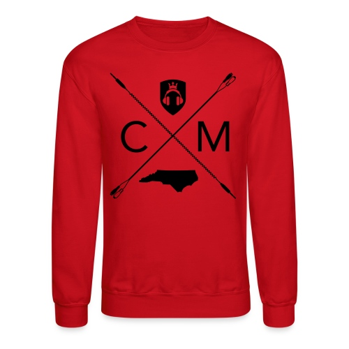 Home Grown AV cranberry - Crewneck Sweatshirt