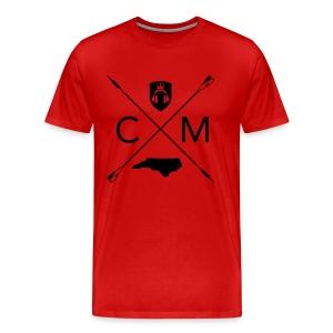 Home Grown AV cranberry - Men's Premium T-Shirt