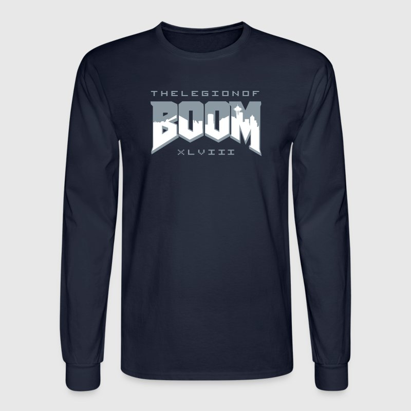 Boom (Doom) Long Sleeve Shirts - Men's Long Sleeve T-Shirt