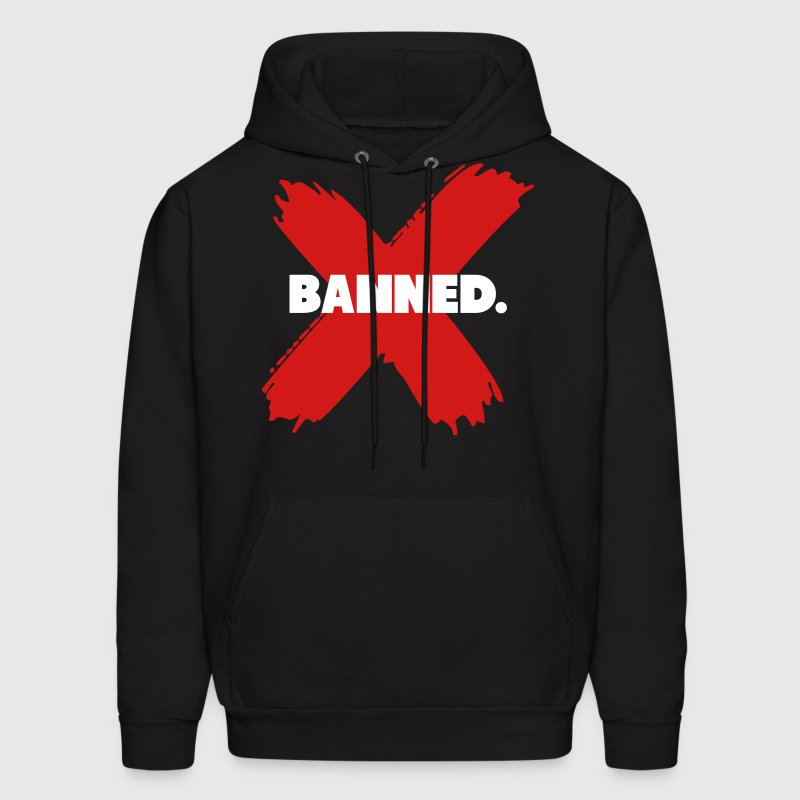 Banned Retro 1 Jordan Shirt Hoodies - Men's Hoodie