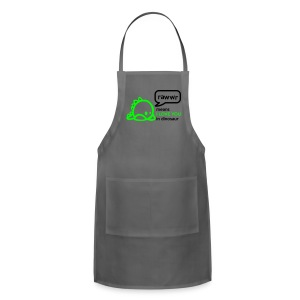 RAWwR - means I love you in dinosaur Women's T-Shirts - Adjustable Apron