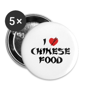 I Love Chinese Food - Small Buttons