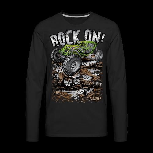 Rock Bouncer Rock On - Men's Premium Long Sleeve T-Shirt