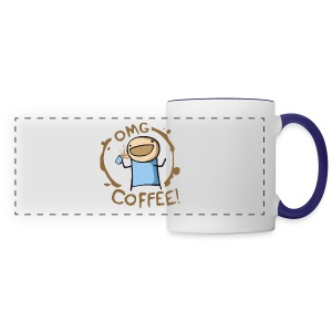 OMG COFFEE! Travel Mug - Panoramic Mug