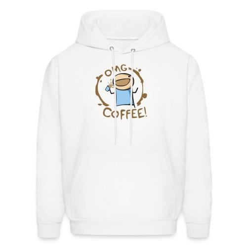OMG COFFEE! Travel Mug - Men's Hoodie