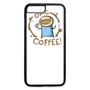 OMG COFFEE! Travel Mug - iPhone 7 Plus Rubber Case