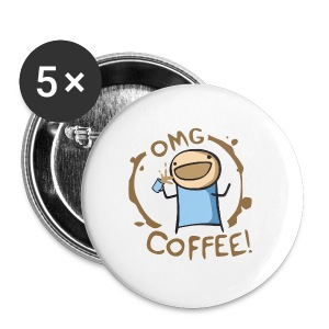 OMG COFFEE! Travel Mug - Small Buttons