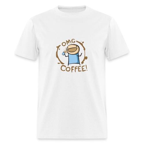 OMG COFFEE! Travel Mug - Men's T-Shirt