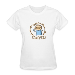 OMG COFFEE! Travel Mug - Women's T-Shirt