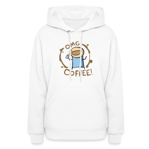 OMG COFFEE! Travel Mug - Women's Hoodie