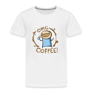 OMG COFFEE! Travel Mug - Toddler Premium T-Shirt