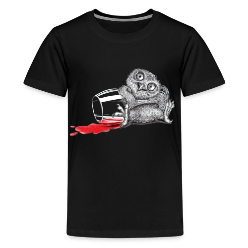 Tipsy Owl - Kids' Premium T-Shirt