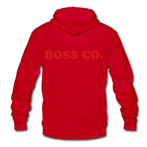 Boss Co - Unisex Fleece Zip Hoodie by American Apparel