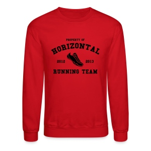 Horizontal Running Team - Crewneck Sweatshirt