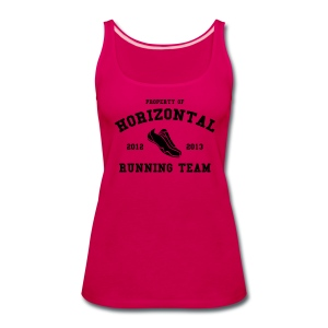 Horizontal Running Team - Women's Premium Tank Top