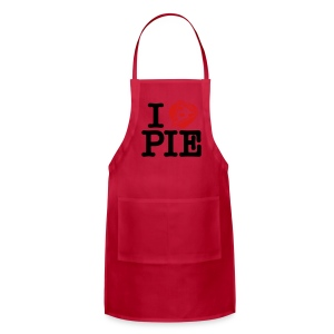 I Love Pizza Pie - Adjustable Apron